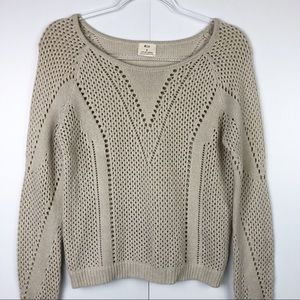 Anthropologie Pins and Needles Knit Sweater